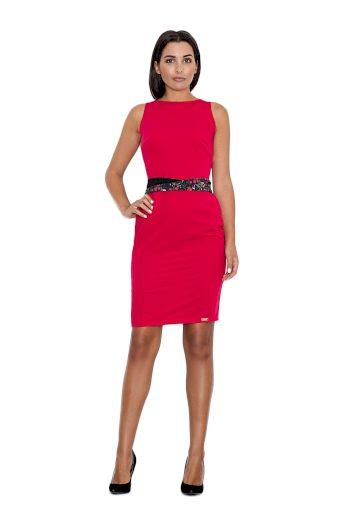 Dámské šaty M534 červené
