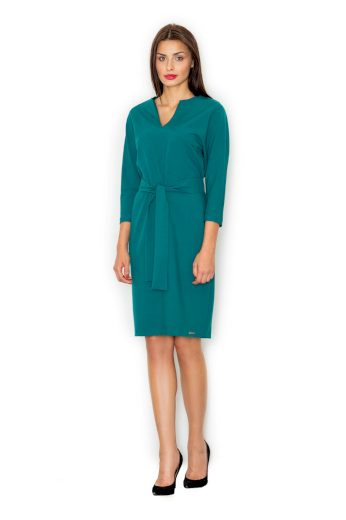 Dámské šaty M526 zelené