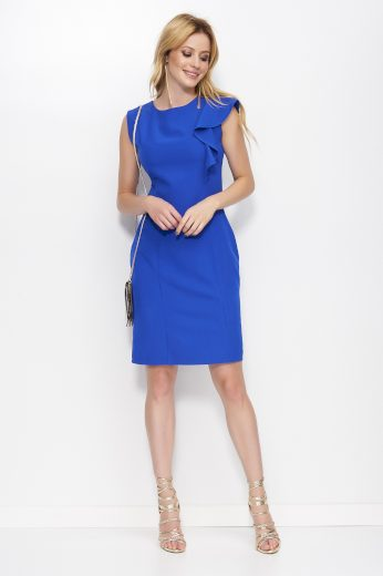 Šaty Makadamia M400 modré