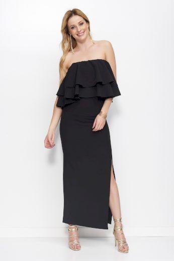 Šaty Makadamia M399 černé