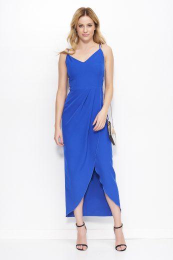 Šaty Makadamia M390 modré
