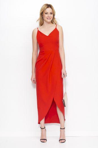 Šaty Makadamia M390 červené
