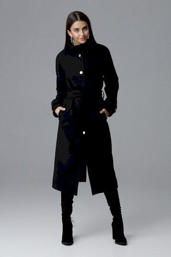 Dámský kabát Figl M624 černý