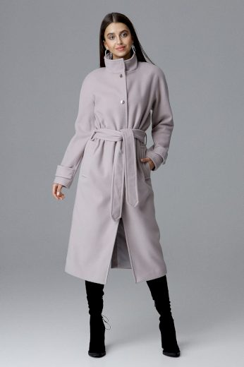Dámský kabát Figl M624 béžový