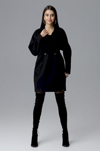 Dámský kabát Figl M625 černý
