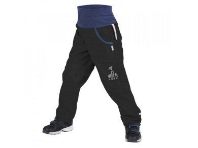 Softshellové kalhoty s fleecem černé - Unuo