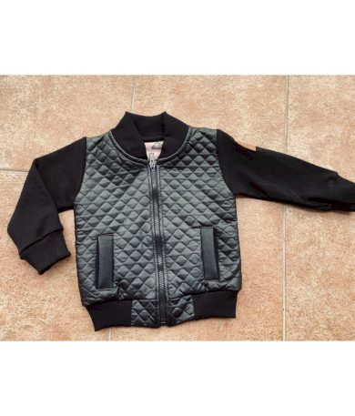 Bomber Jacket Black - Chlapeček - Jako máma