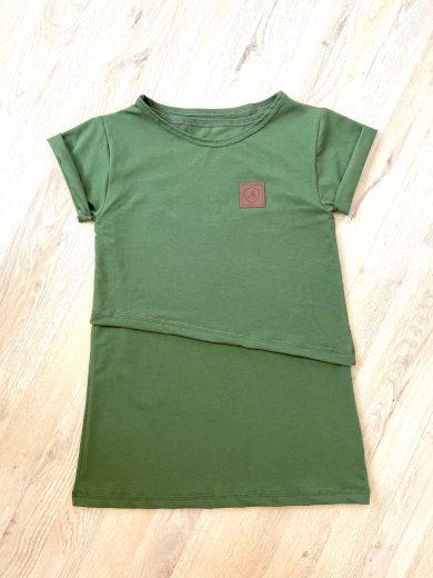 Kojící tričko Cypress (krátký rukáv) - Jako máma