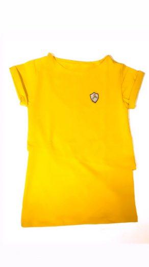 Kojící tričko Mustard (krátký rukáv) - Jako máma