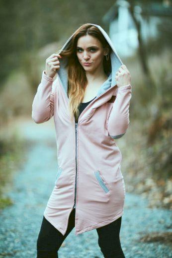Dlouhý cardigan Pink - Jako máma