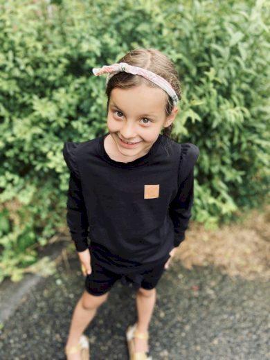 Mikina Posh holčička černá - Jako máma