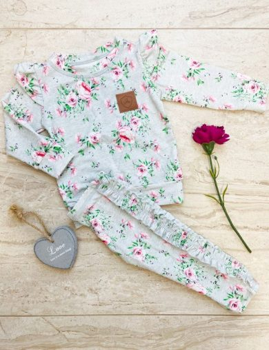 Mikina Roses Grey holčička - Jako máma