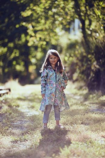 Softshell kabát s fleecem Flowers - Jako máma