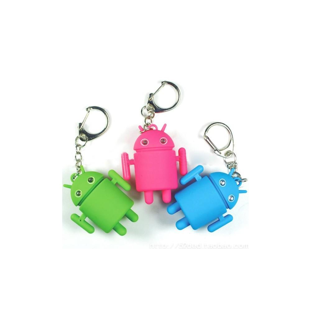 Android LED přívěšek na klíče se zvukem