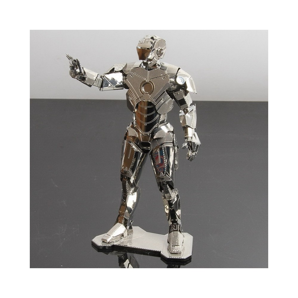 3D ocelová skládačka Iron Man