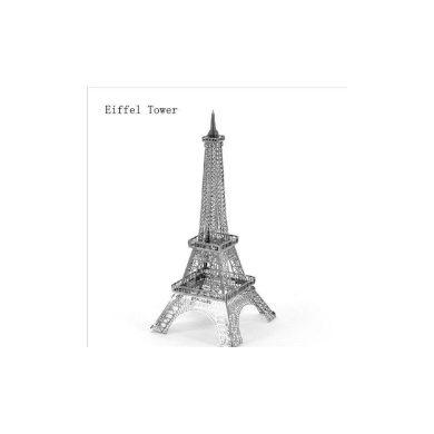3D ocelová skládačka Eiffelova věž