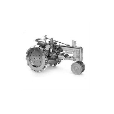 3D ocelová skládačka Traktor