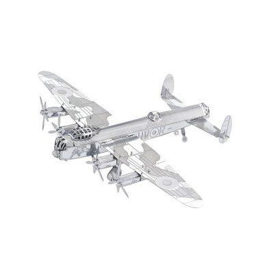 3D ocelová skládačka Bombardér Lancaster