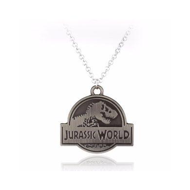 Náhrdelník Jurassic World Dinosaurus Logo