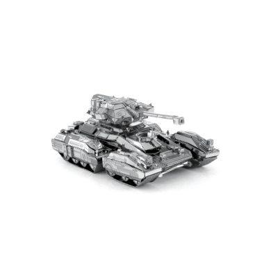 3D ocelová skládačka HALO UNSC Warthog Scorpion Tank