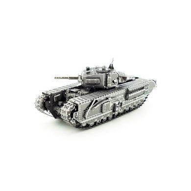 3D ocelová skládačka TANK Churchill