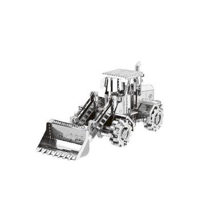 3D ocelová skládačka Stavební Bagr