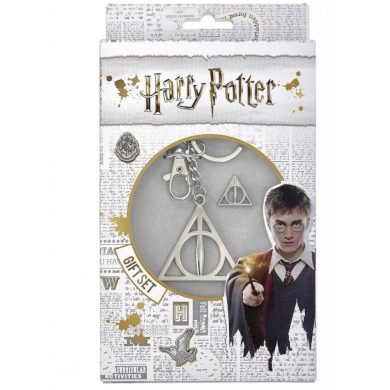 Klíčenka s odznakem Harry Potter - Relikvie smrti