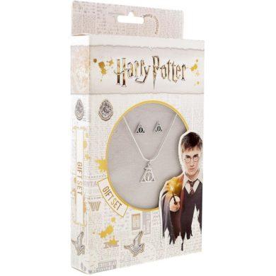 Náhrdelník a náušnice Harry Potter - Relikvie smrti