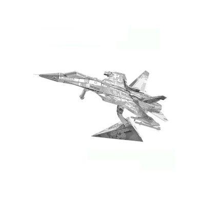 3D ocelová skládačka stíhačky Shenyang J-15