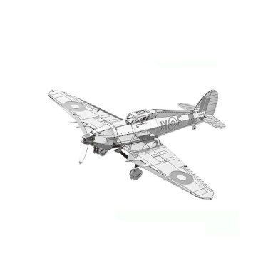 3D ocelová skládačka vrtulník Hawker Hurricane
