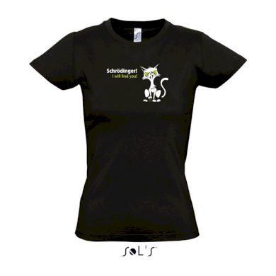 Schrödingerova kočka - Dámské Geek tričko