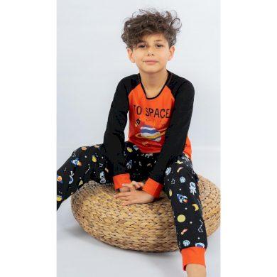 Dětské pyžamo dlouhé Vesmír