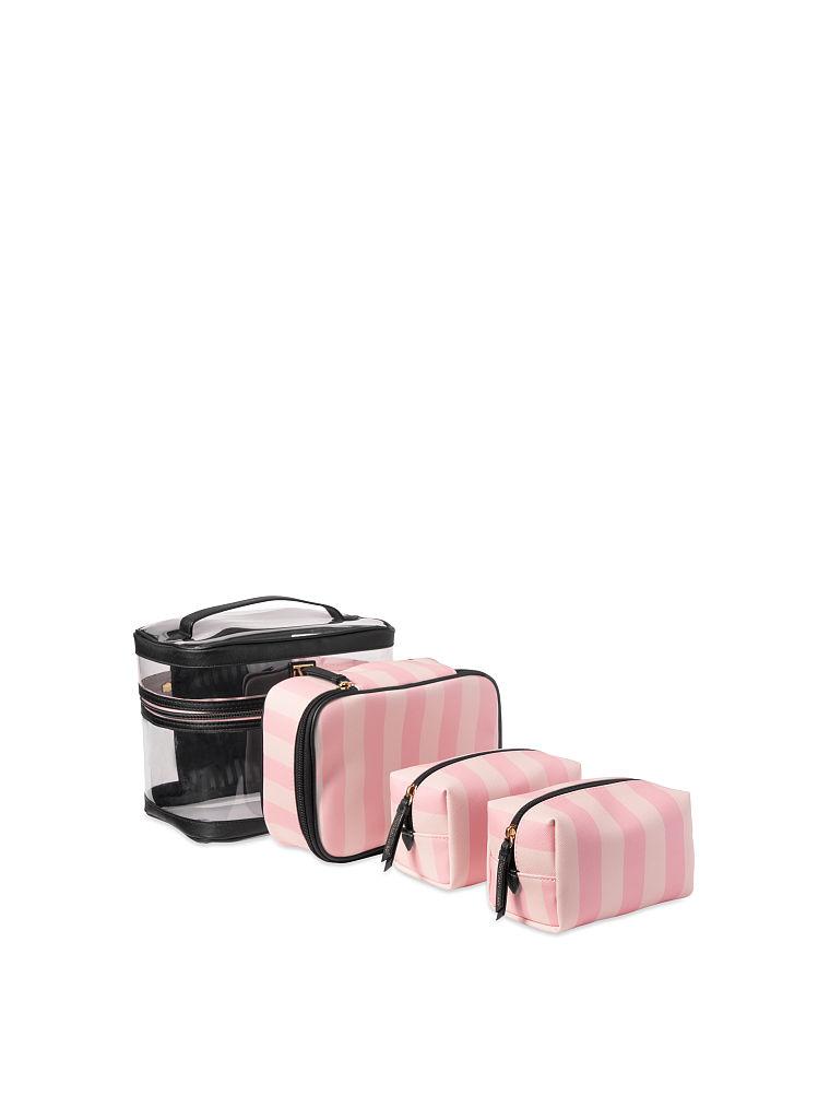Victoria's Secret kosmetické tašky 4 v 1 / Růžová