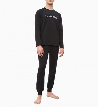 Calvin Klein pánské pyžamo Modern Cotton / černé