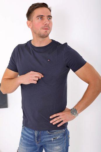 Tommy Hilfiger pánské tričko - modré