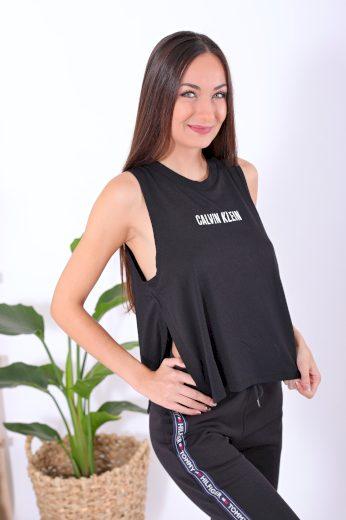 Calvin Klein Beach tank top - Intense Power / černá