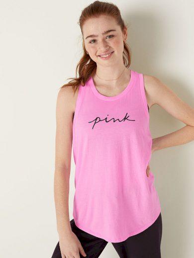 Victoria's Secret PINK dámské tílko / růžové