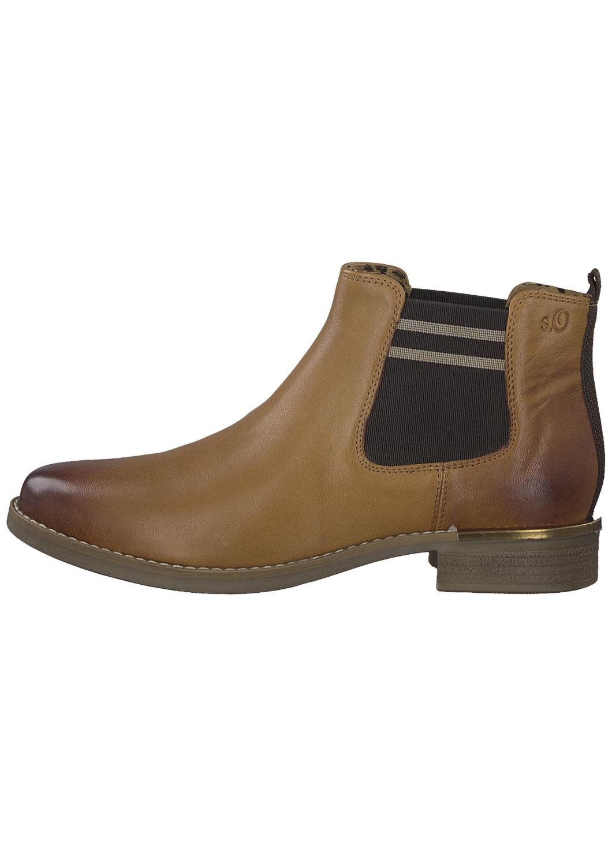 s.Oliver dámské kotníkové boty 5-25335-33 cognac