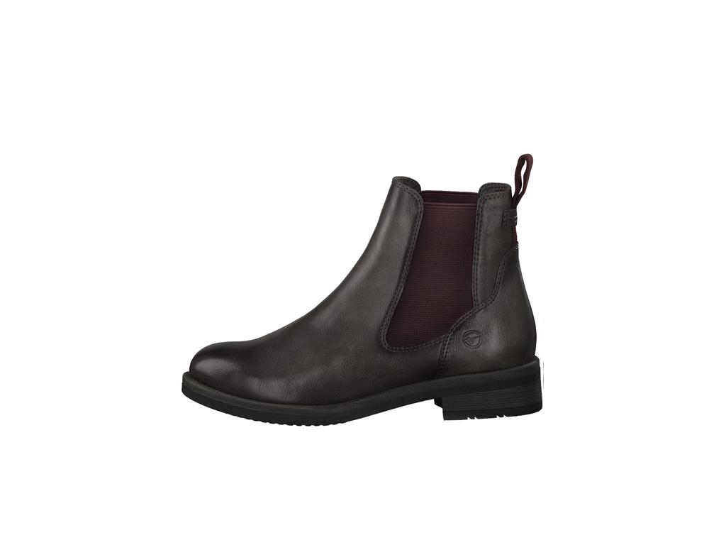Tamaris dámské kotníkové boty pérka 1-25312-27 antracit