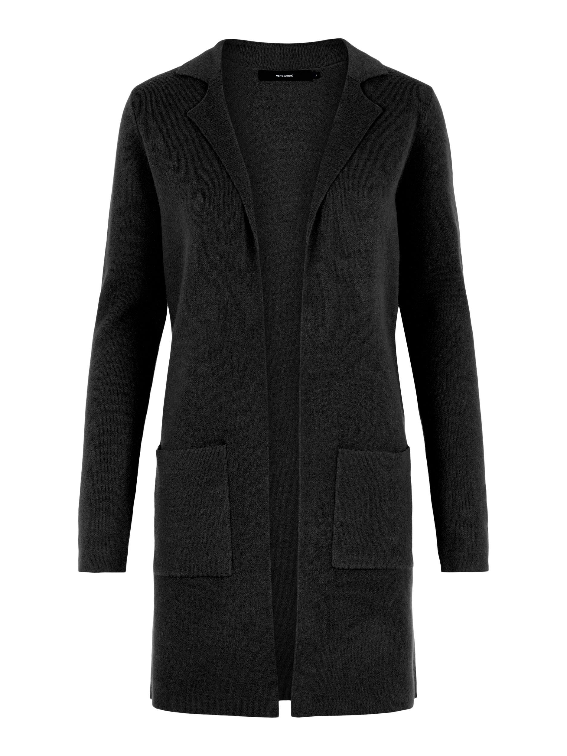 Vero Moda dámský pletený kardigan Tasty černý