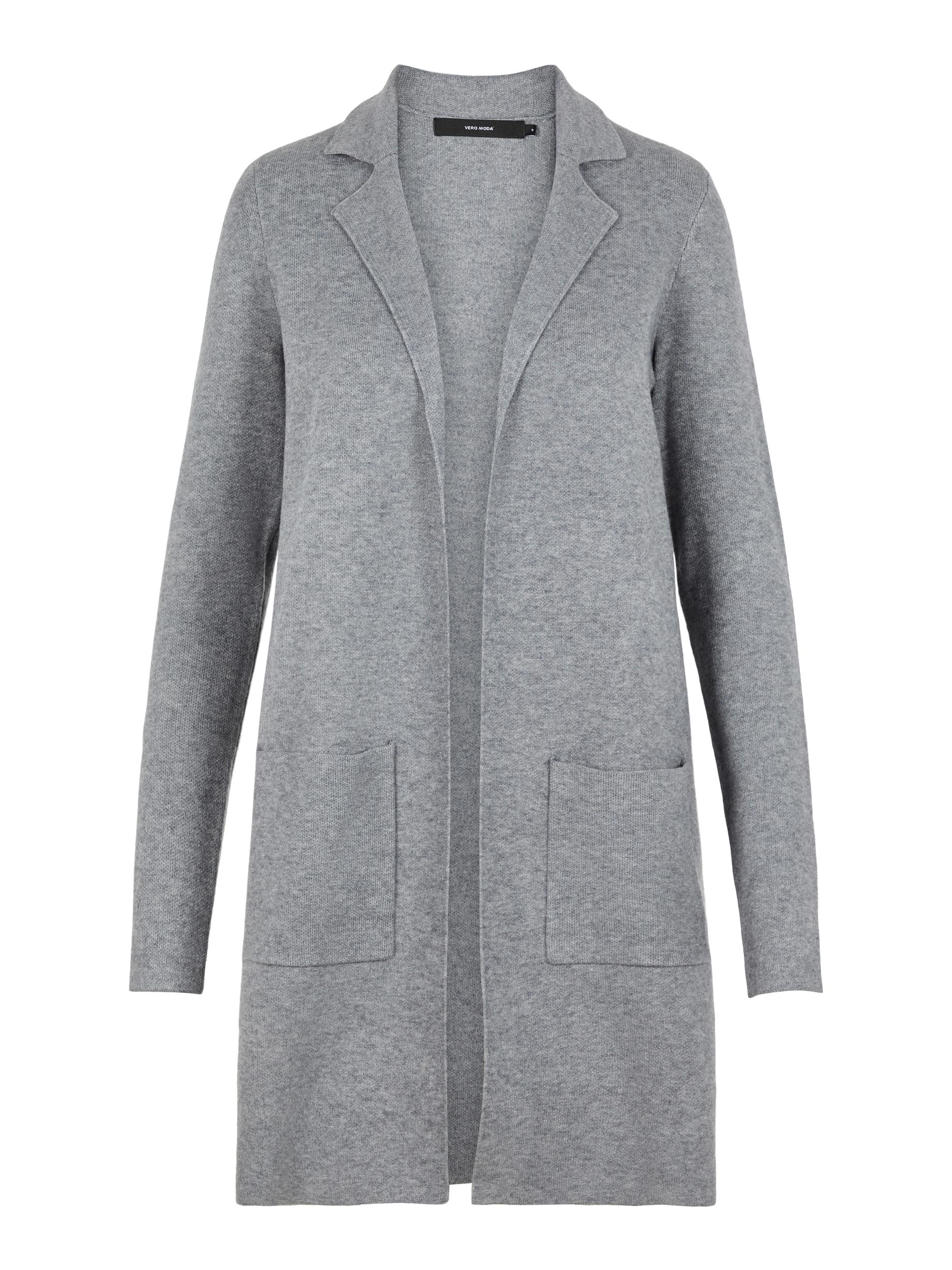 Vero Moda dámský pletený kardigan Tasty šedý