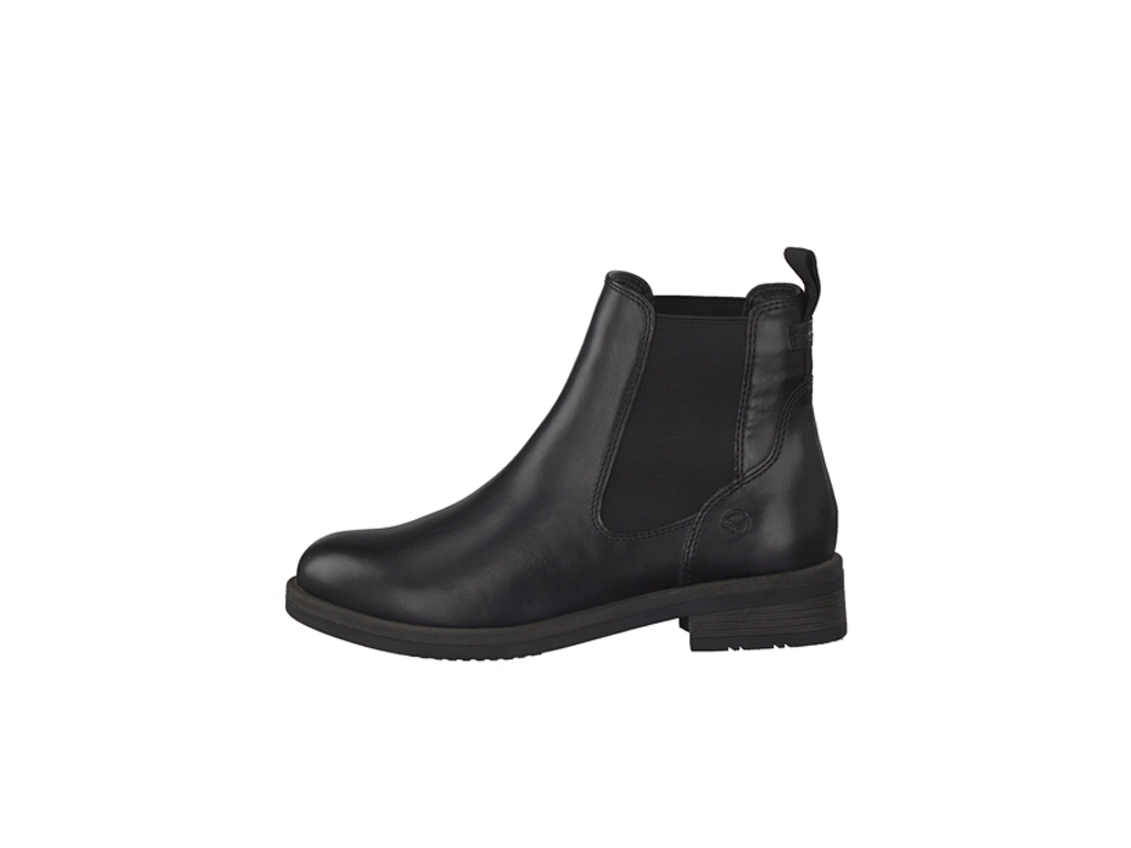 Tamaris dámské kotníkové boty pérka 1-25312-27 black uni