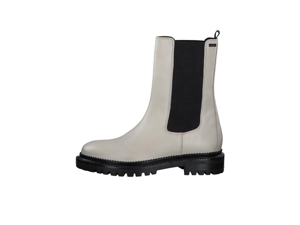 s.Oliver dámské kotníkové boty pérka 5-25400-27 offwhite