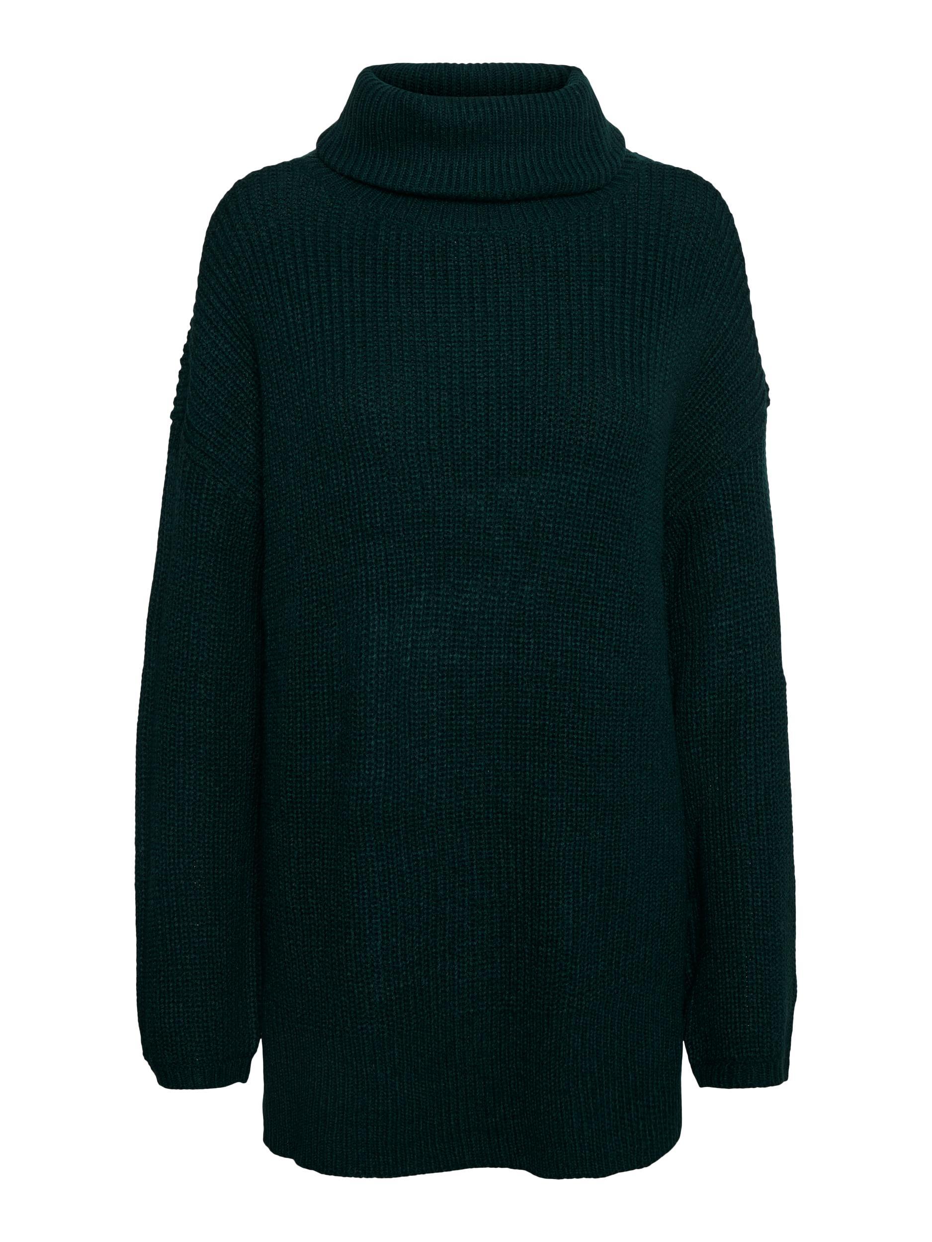 Vero Moda dámský pletený rolákový svetr Sayla zelený