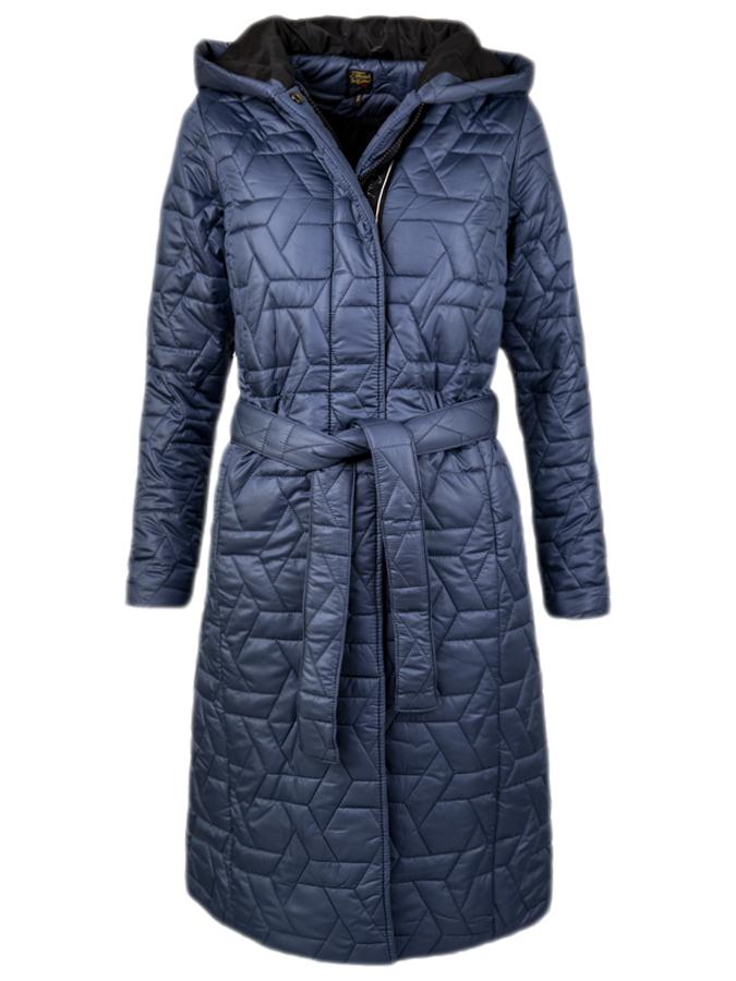 Funk'n'Soul dámský lehký kabát s kapucí modrý