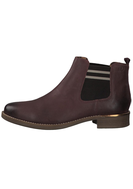 s.Oliver dámské kotníkové boty vínové 5-25335-33 bordeaux