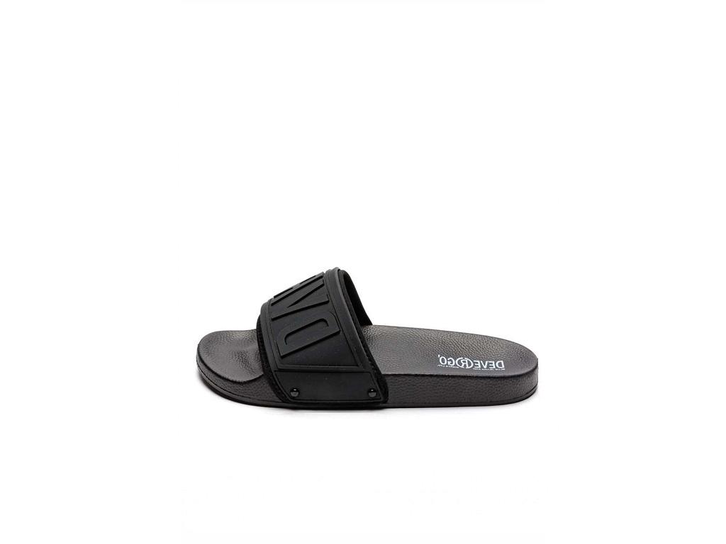 Devergo pánské pantofle Caravel černé