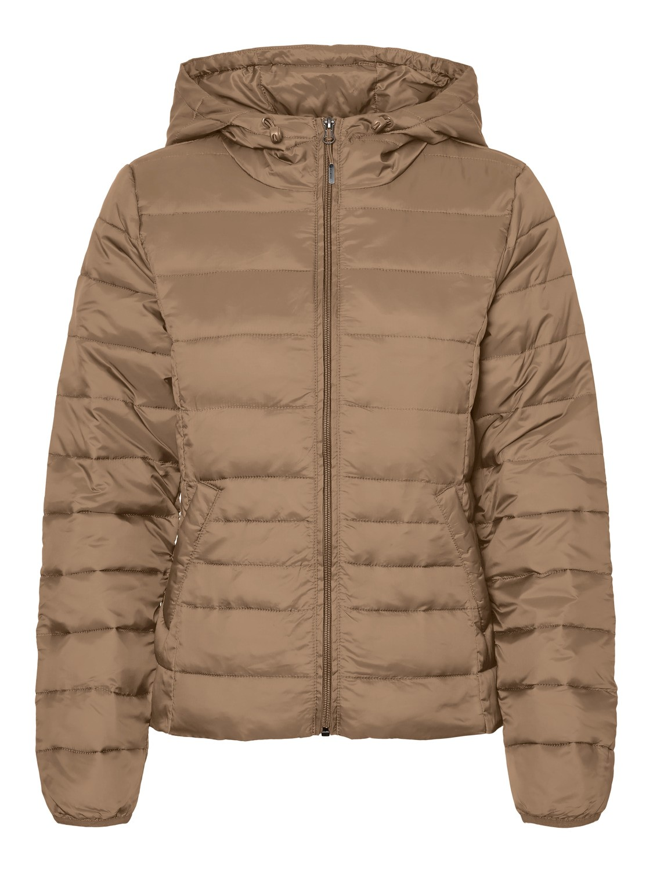 Vero Moda dámská prošívaná lehká přechodová bunda Ikkola sepiová