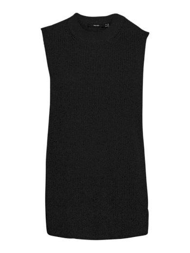Vero Moda dámská pletená vesta Lea černá
