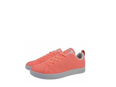 Adidas dámské tenisky NEO VS Advantage Clefan K lososové